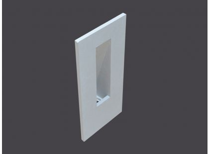 SINGLE RECESSED WALL LIGHT FIXTURES U75
