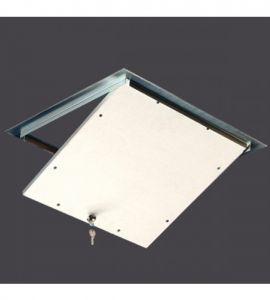 STEEL HATCHES WITH LOCK FOR FALSE CEILINGS AND WALLS